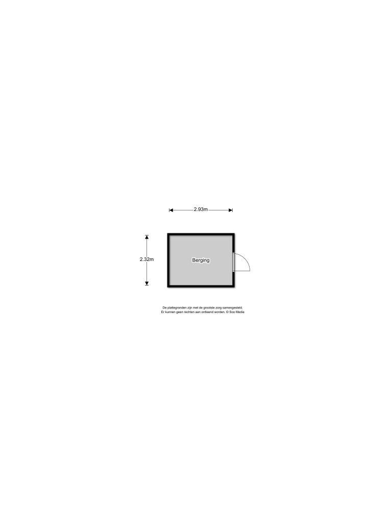 Velserbroek – Grote Buitendijk 166 Plattegrond 5