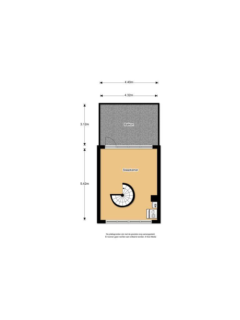 Velserbroek – Grote Buitendijk 166 Plattegrond 4